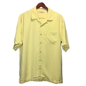 Tommy Bahama Shirts - Tommy Bahama Yellow Hawaiian Shirt Size M